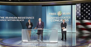 Congressional Members Speaking At The Free Iran Gathering