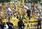 Rally Against Iran's President