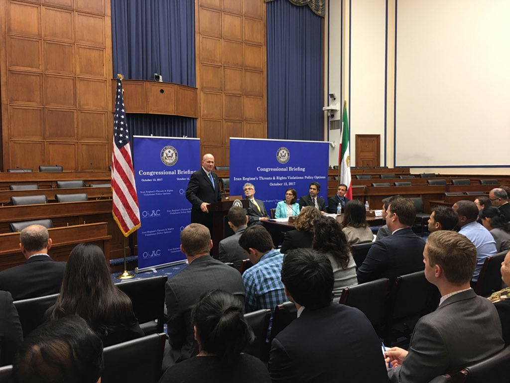 Briefing About Iran's Threats & Rights Violations