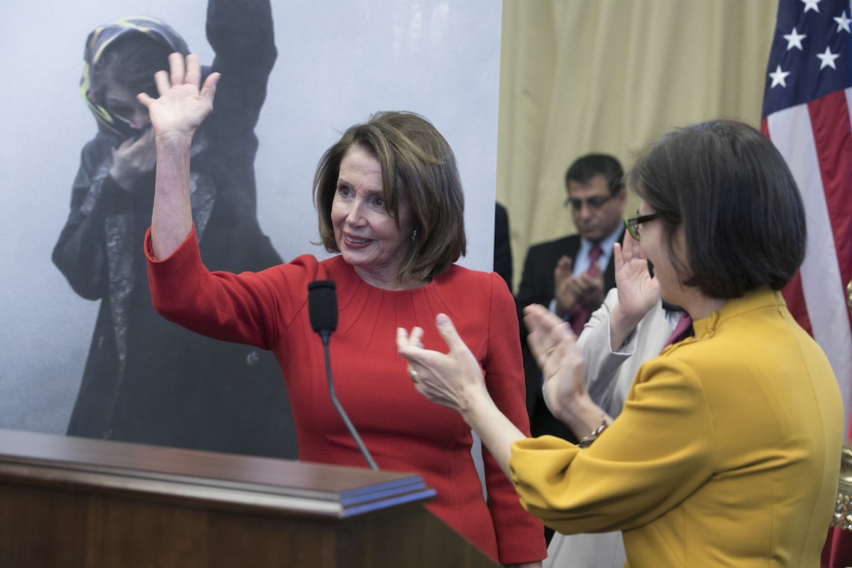 Minority Leader Nancy Pelosi