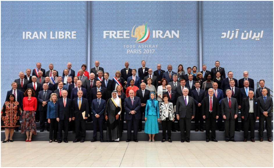 Congressional Members Gathering at Free Iran - 2017